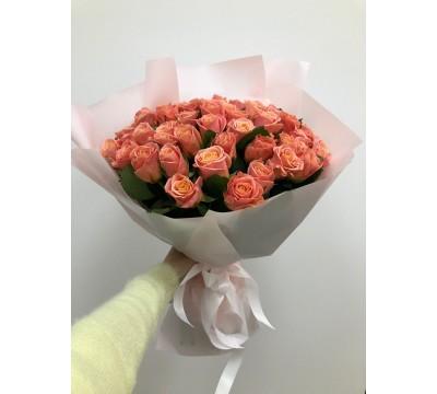 Букет 51 Роза Мисс Пигги
