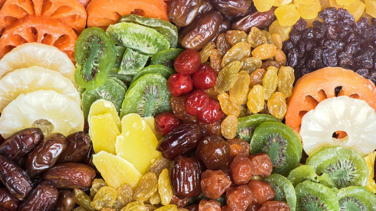 Сухофрукты вмeсто таблеток и витаминов